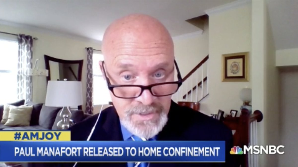 .@glennkirschner2: When you see Sen. Burr immediately having the FBI seize his phone, getting a warrant based on probably cause to investigate him for potential crimes & we don't hear reporting that same is happening to Sen. Kelly Loeffler [it undermines trust in the DOJ]. #AMJoy<br>http://pic.twitter.com/XQZ7tiBmdt