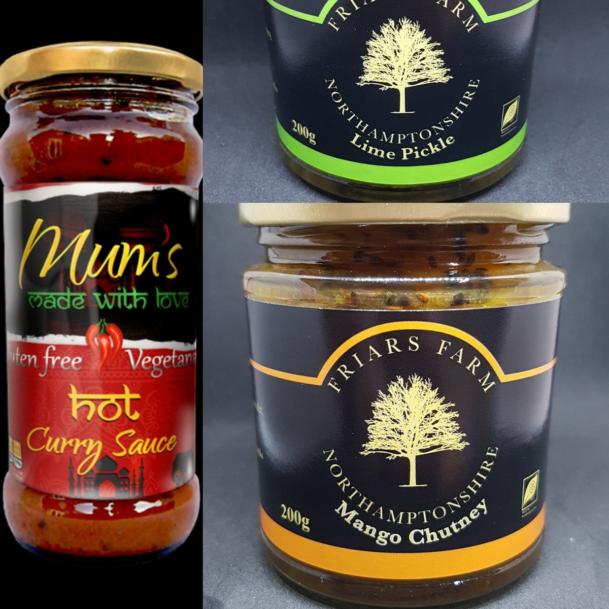 Now available from us . Ultimate curry night. All three for just £8 . If you dont do hot then just add cream/yoghurt or coconut milk . Once the sauce is gone we cant wait to introduce you to what the lovely people will be bringing you . #newbusiness #newrecipes #artisanlove