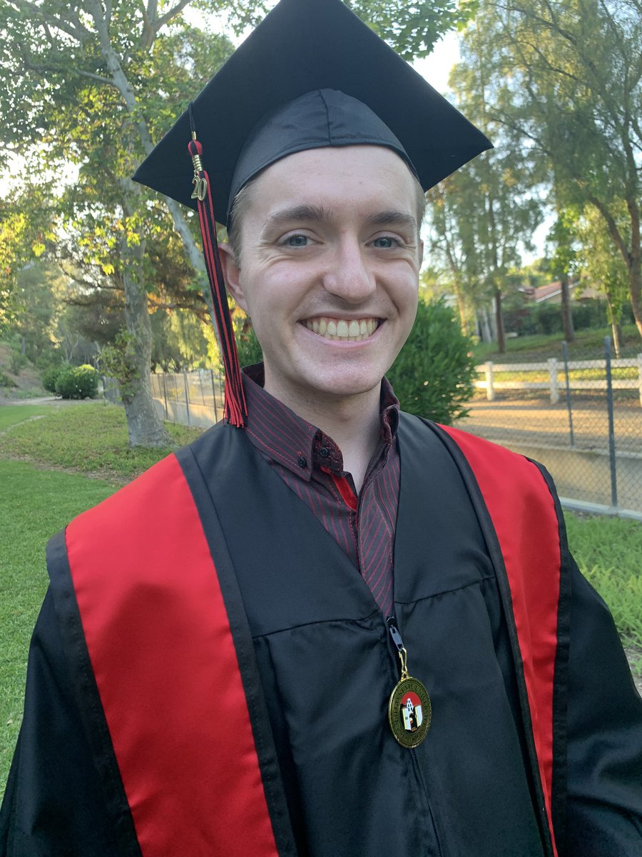 My son graduates from SDSU today! I am so proud! gopro.com/v/EDEX1k44O5XLP