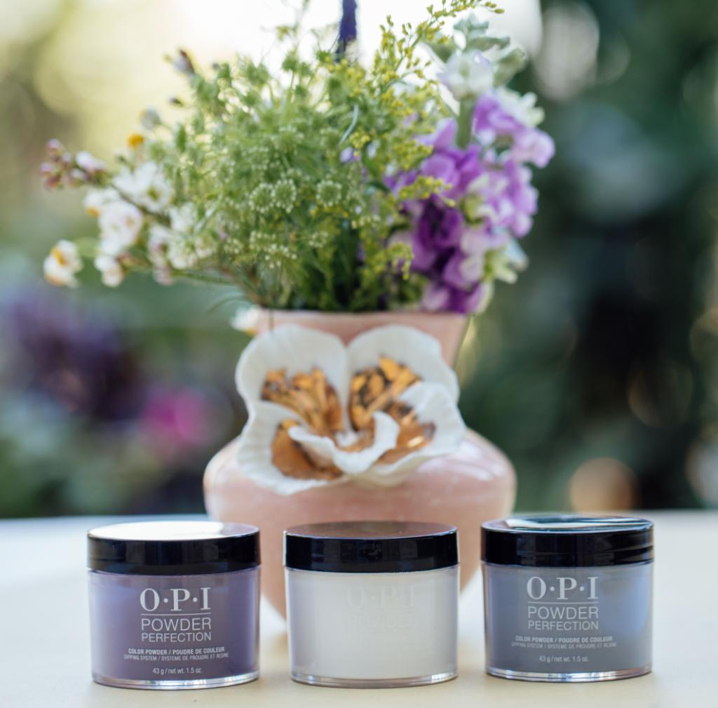 Wild May flowers and odor-free #DippingPowders! Shades: #LessIsNorse #FunnyBunny #OSuziMio  #WildAndFree #OPIPowderPerfection #OPIObsessed   https://bit.ly/3fV4FiMpic.twitter.com/FmgYQBJi9O