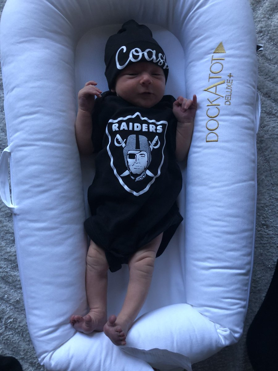#RaiderNation please welcome Coast Bradley Van Voorhis, the newest member of the greatest fan base in the NFL! <br>http://pic.twitter.com/MweIJZsa5C