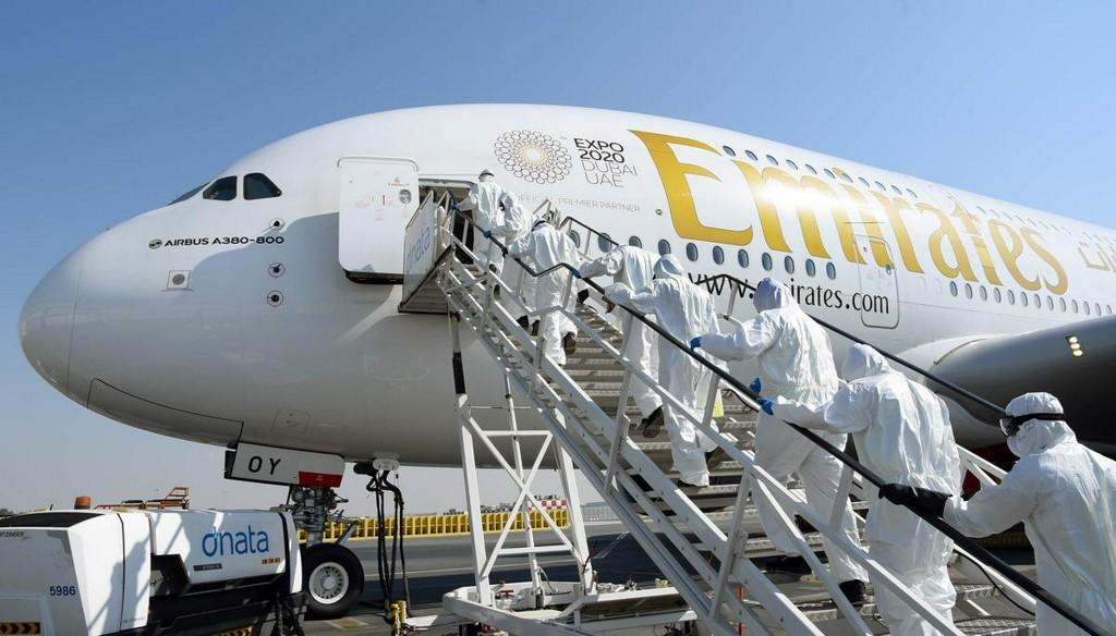 Emirates Group planning to cut about 30,000 jobs amid virus outbreak - Bloomberg News  https:// uk.reuters.com/article/uk-hea lth-coronavirus-emirates-group-idUKKBN22T0JQ?taid=5ec1a6fd70bced00012b02b4&utm_campaign=trueAnthem%3A+Trending+Content&utm_medium=trueAnthem&utm_source=twitter  … <br>http://pic.twitter.com/wNgFHIxwTR