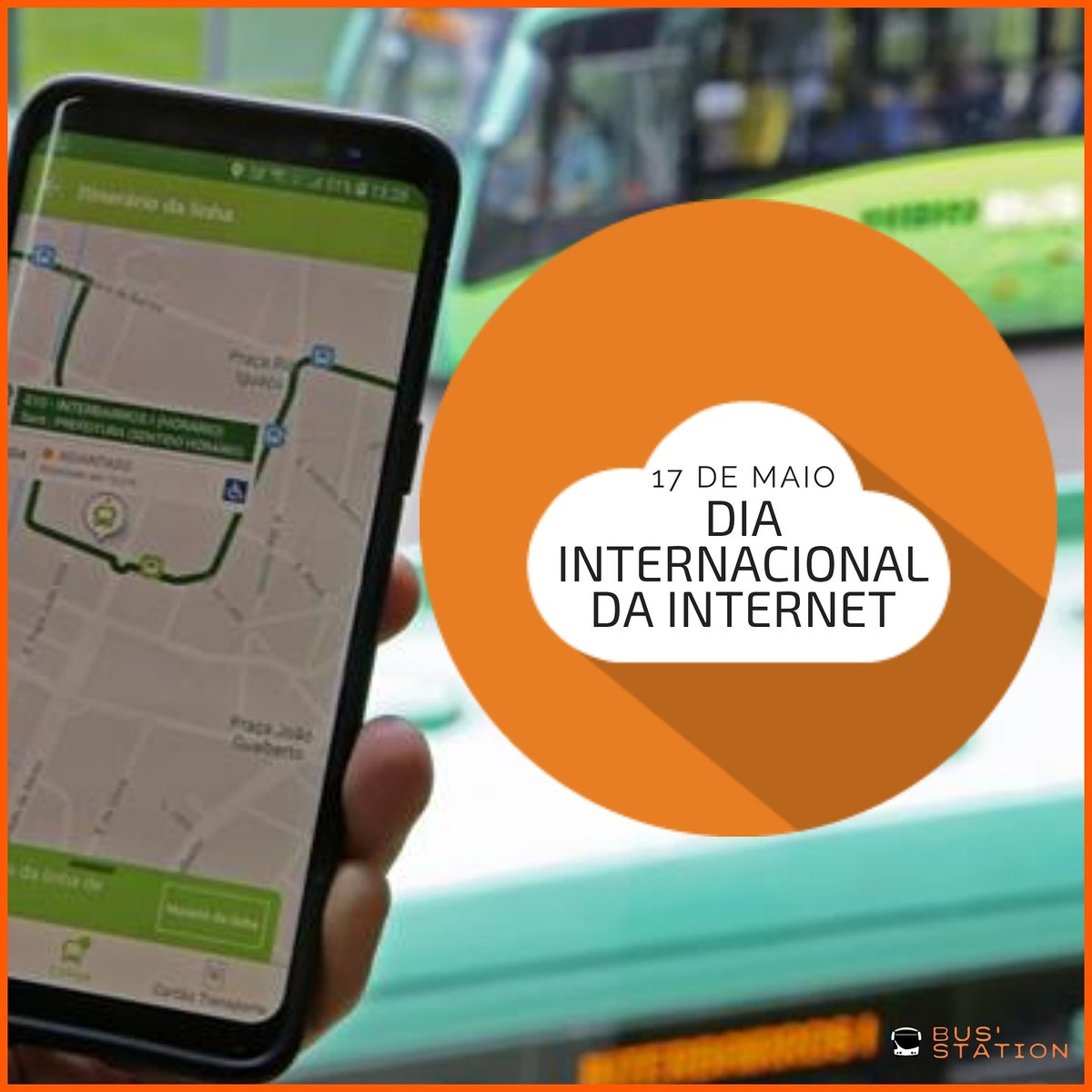 A Bus'Station fornece para os clientes do transporte coletivo internet Wi-Fi criando inclusão digital e por isso comemora nos hoje dia 17 de maio ODia da Internet. 🚍💬🌎🛰📲💻🚌 #busstationcuritiba #busstation #diadainternetsegura #wifigratis #bus #onibus #wifi #internet https://t.co/QzOPylaspR
