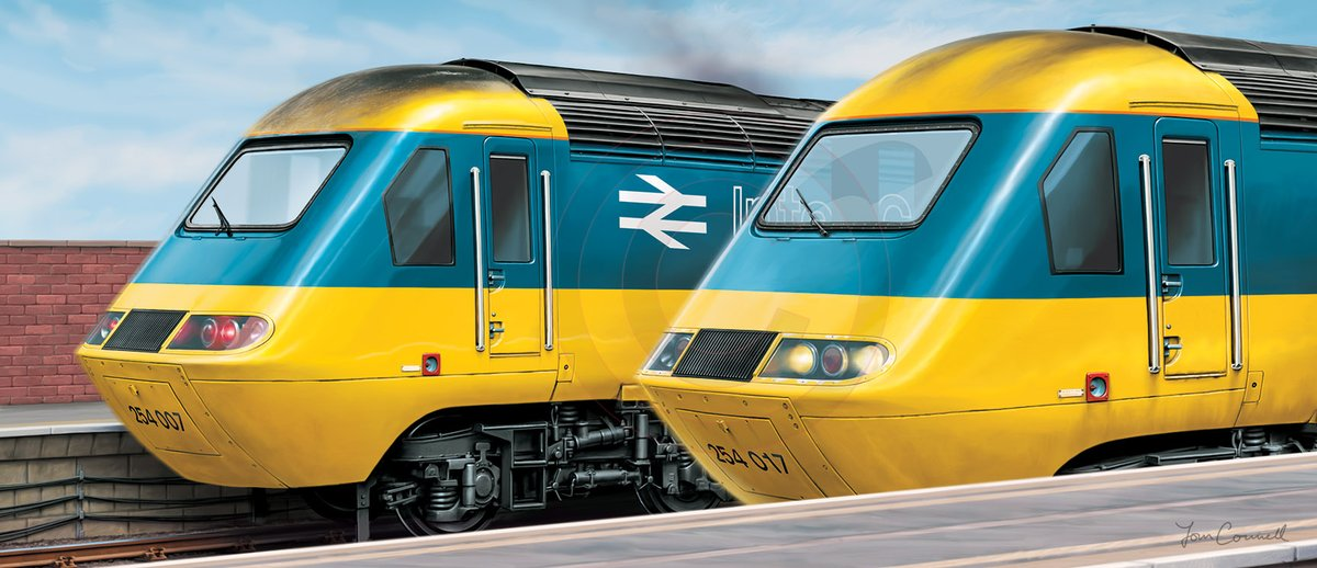 Im likely to come up with a tribute to the HSTs at some stage, most likely featuring a print of trains from the last operators to use them,all in one picture.I have an idea what it will look like(not like this!)and am just seeing if there might be any interest in this?