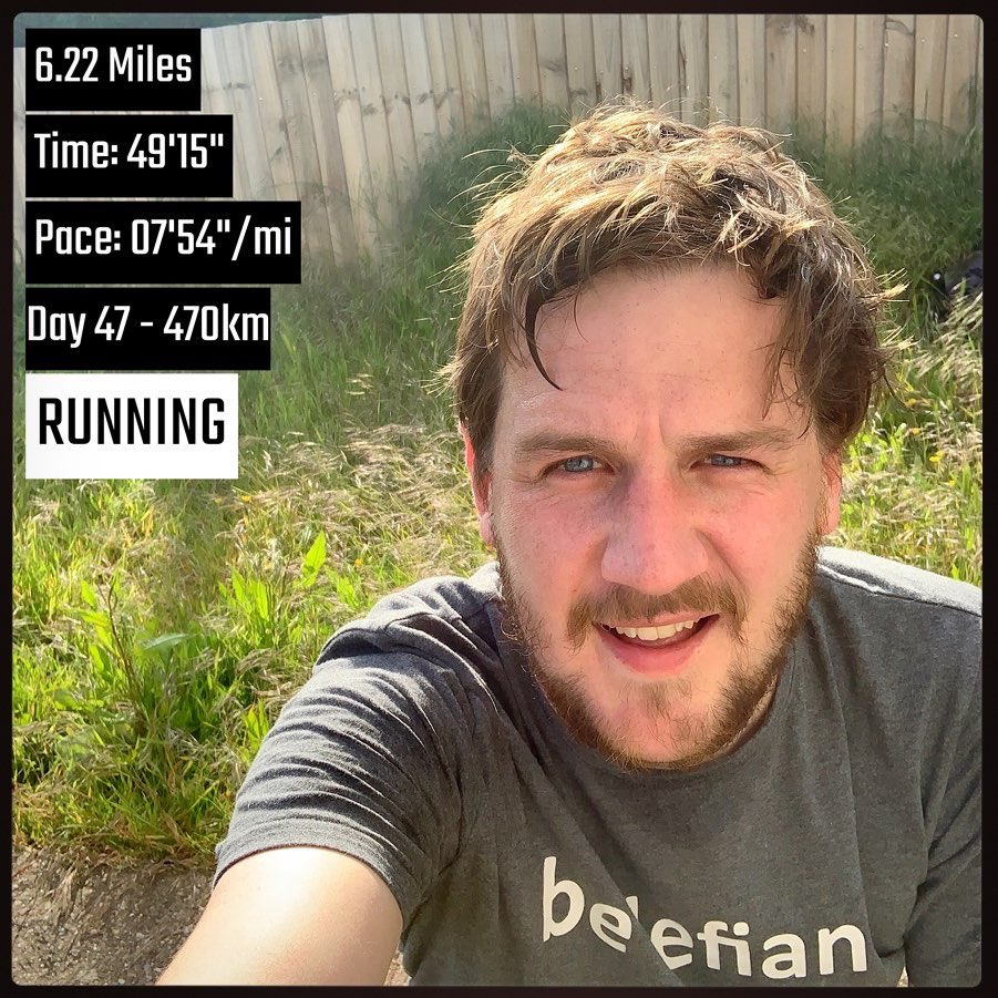 Almost there. 47 consecutive 10kms done. 3 to go... runstreak day 55  #ukrunchat #runner #10km #runstreakpic.twitter.com/iz8fSOxlVa
