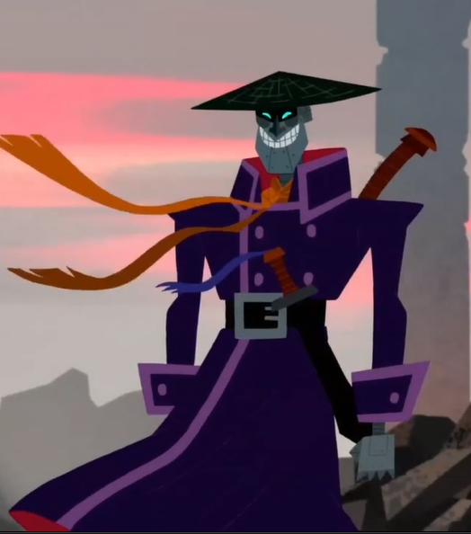 @WolfdawgArt @creatives_for He looks like a scaramouche from Samurai Jack Great job, anyway
