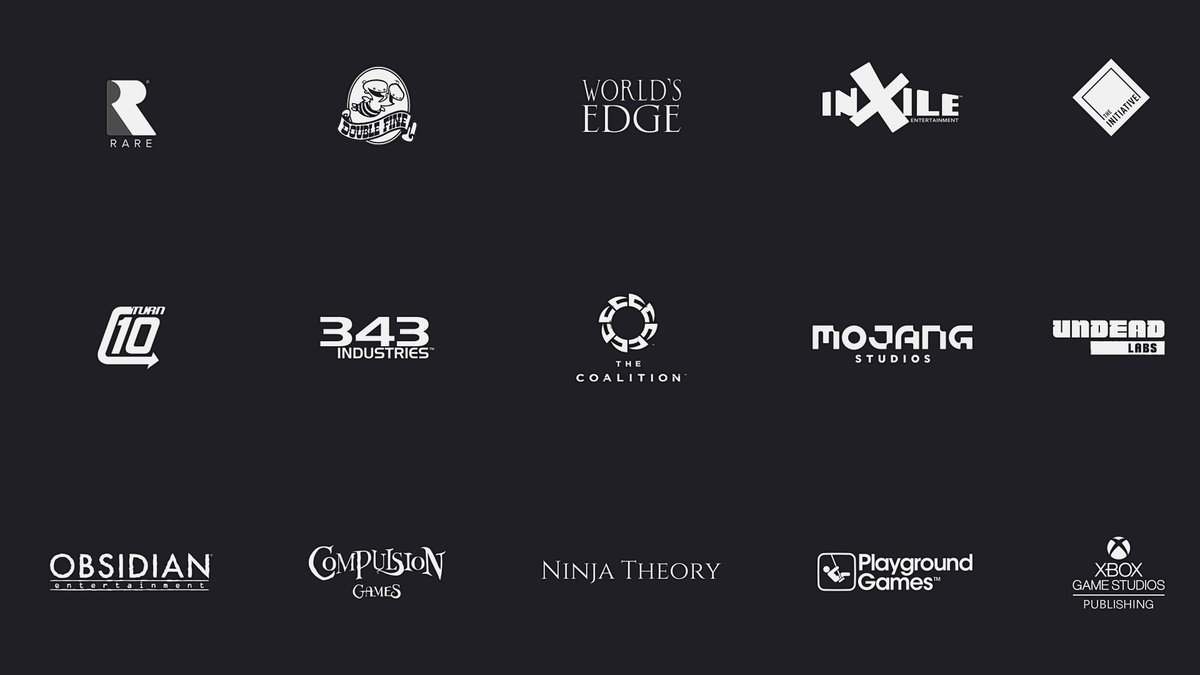 Klobrille On Twitter Updated The Xbox Game Studios Overview 4k With New Logos By World S Edge And Mojang Studios Also Updated My Twitter Profile Banner To A More Professional Appearance Better Mirroring