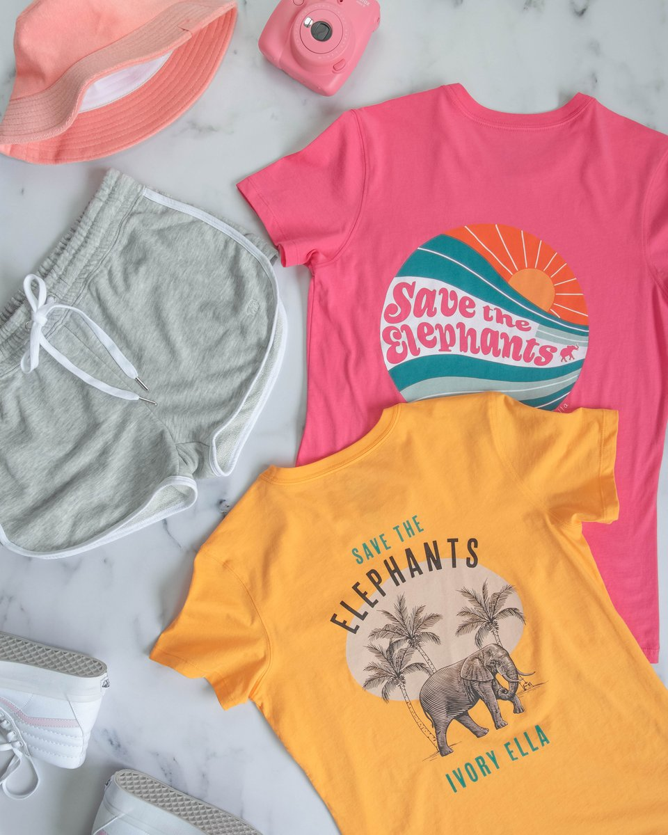 Close your eyes and imagine youre on a tropical island 😆 Now shop the styles that take you there! 🌴🐘🏖️#IEforME #SaveTheElephants ivoryella.com/collections/sh…