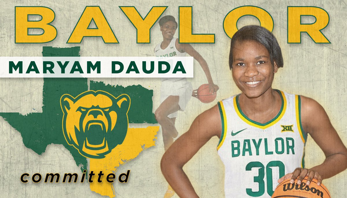 Go Bears💚💛🐻 #Committed