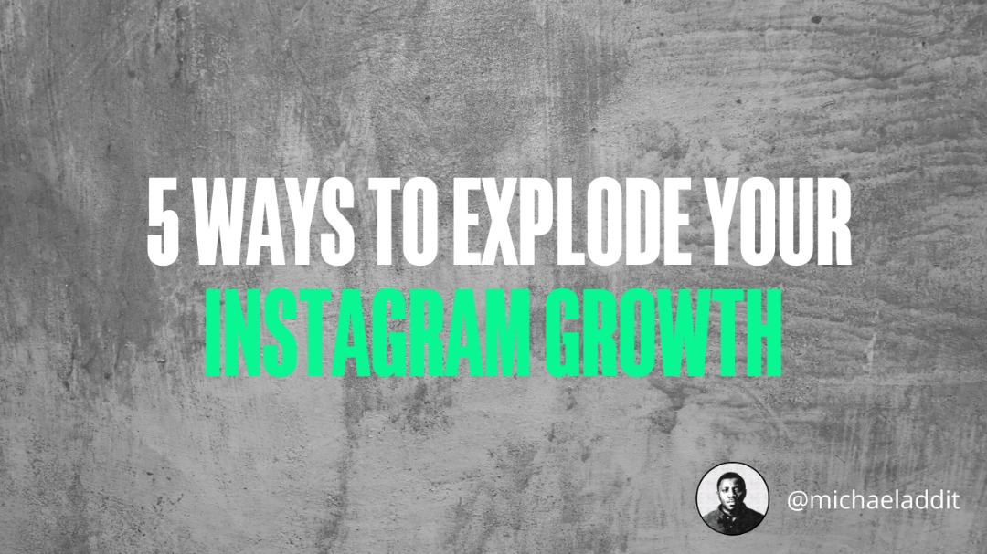 5 Ways To Increase Your Post Visibility And Explode Your Instagram Growth