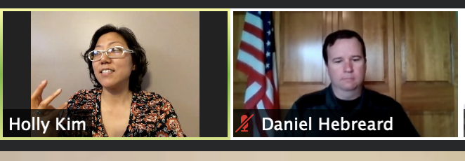 Now up to talk about getting young people excited in downballot races: Lake County Treasurer @LakeCountyHolly and DuPage County Forest Preserve President Daniel Hebreard! #CDIL2020