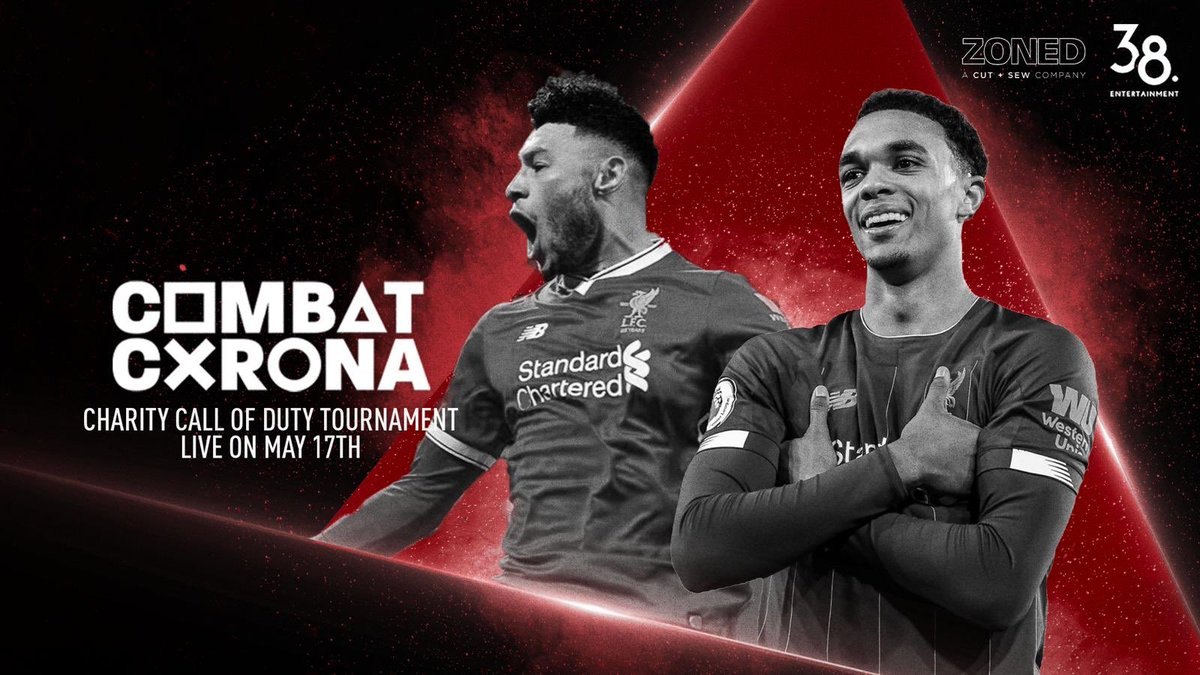 Join me @trentaa98 & @Jukeyz NOW on the @CombatCorona charity livestream with 45 celebrities, athletes and creators.  We're raising funds for urgent medical supplies to help combat coronavirus.  📺