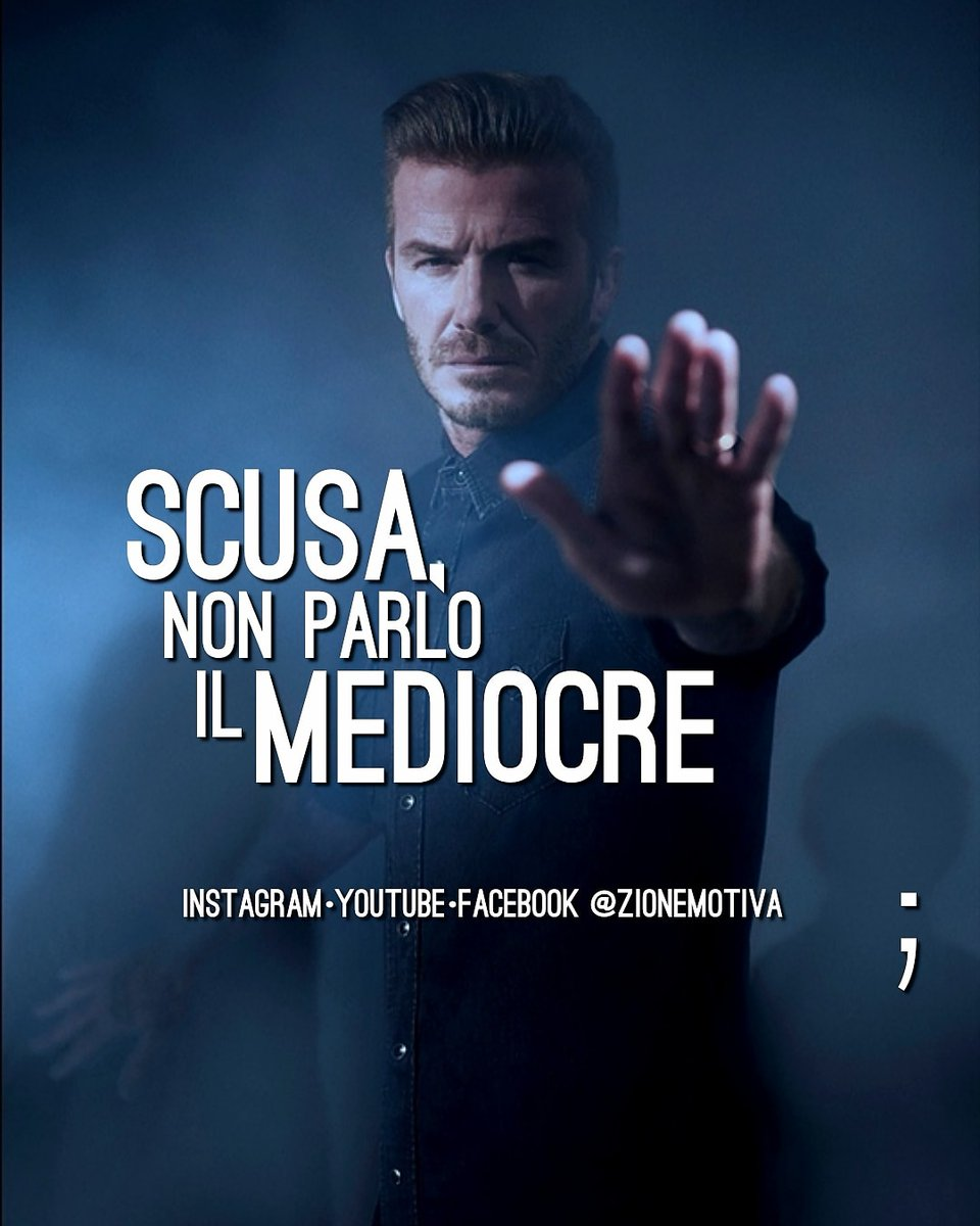 Sorry, I don't speak average  #motivazione #calcio #beckhampic.twitter.com/bWBxHPiq1o