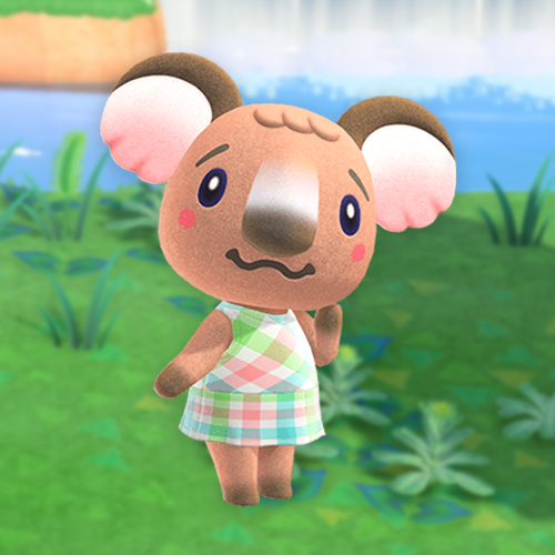 Animal Crossing New Horizons Design Codes On Twitter Melba Is Adorable And I Never See Anyone Talk About It Becky Came To My Campsite And Was Like I Ll Move In If Melba