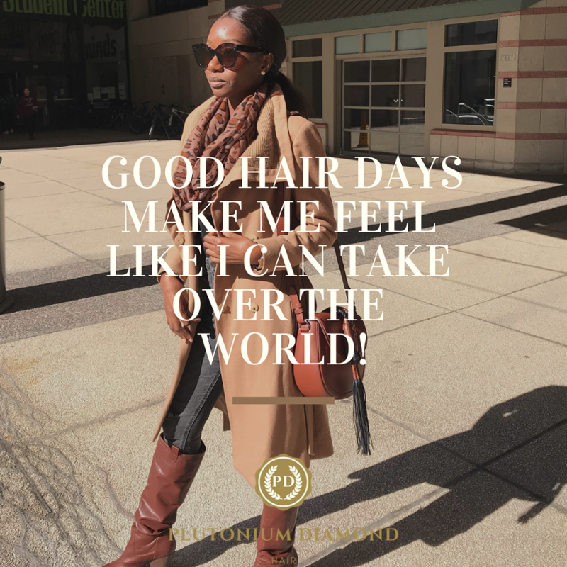 Good Morning! When your hair is pulled together, don't you feel like you can accomplish anything? It is time to soar! #PlutoniumDiamondHair #beautifulhairstyle#fabulous#luxury#glamour #goals #closures #letsdothis #timetoshine #diamonds#goodmorning#curls #goodhair #goalspic.twitter.com/fFZuZwhCT4
