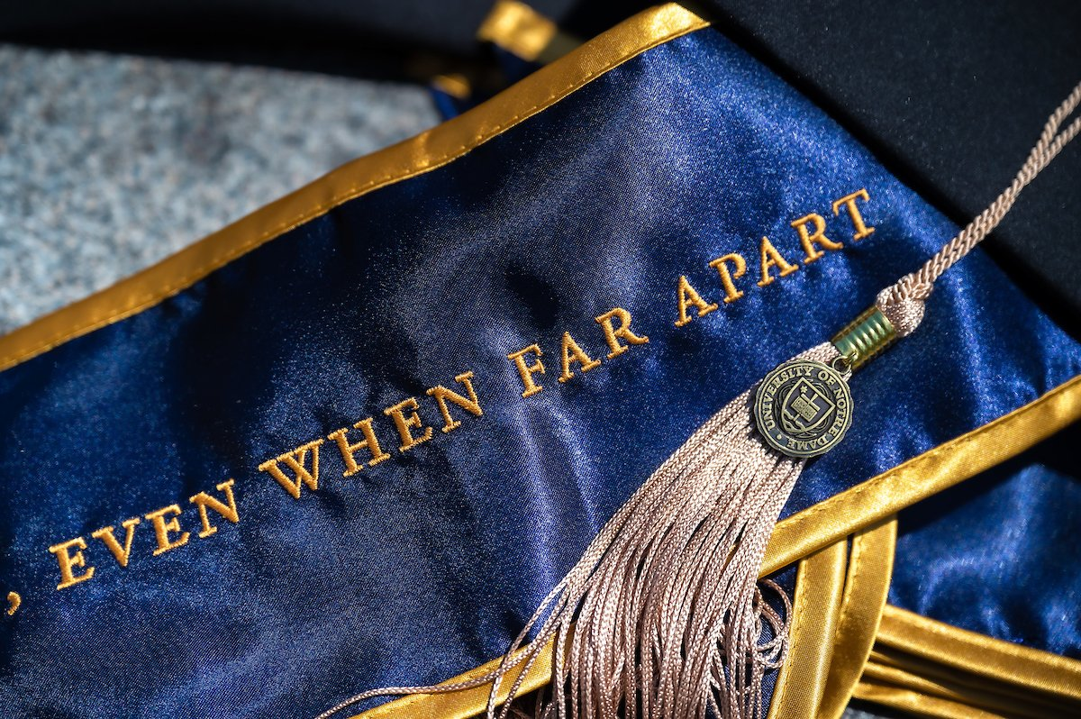 Notre Dame confers degrees on Class of 2020 go.nd.edu/a4fe03