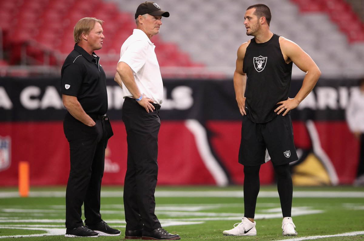 By Twitter definition... Mike Mayock & Jon Gruden are Carr Stans. You love to see it.   #RaiderNation <br>http://pic.twitter.com/greHod5uf9