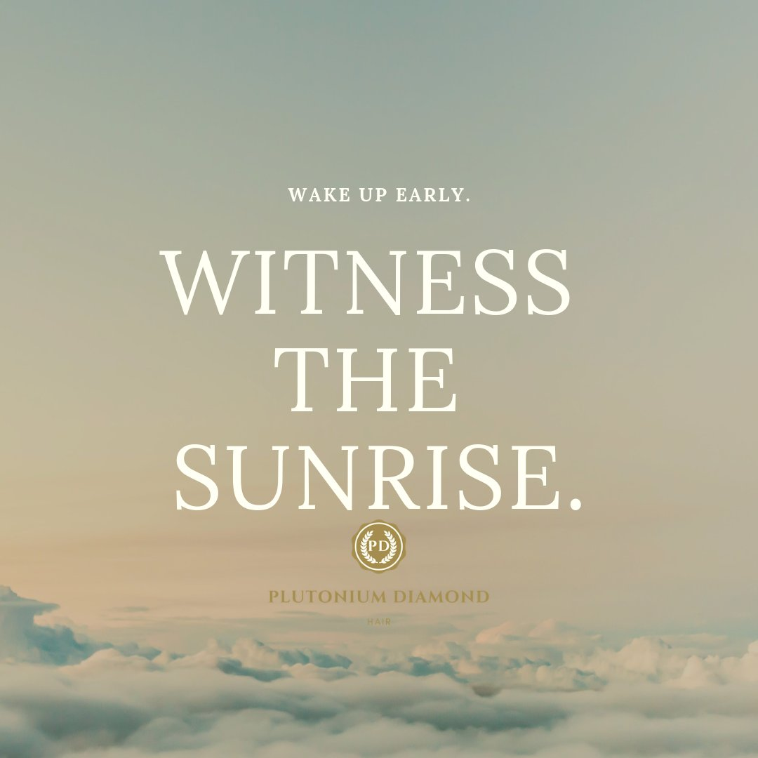 Rise and shine! Witness the sunrise. #PlutoniumDiamondHair  #beautifulhairstyle#fabulous#luxury#glamour #goodmorning #hustle #riseandshine#sunrise#earlybirdcatchestheworm #hair#locks#stylists#vacation#fun #hairofinstagram#beauty#beautifulhair #humanhair #remyhairpic.twitter.com/9WMEhryo5o