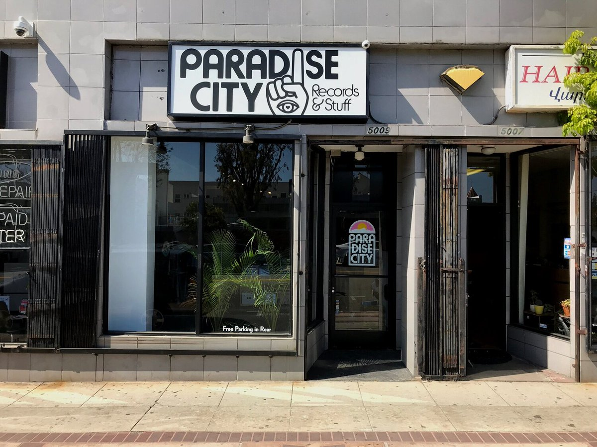 Tomorrow our partnership with @discogs kicks off with the first record store in this #Homespun series! Check out their Facebook or YouTube account at 2 PM ET for the live set from Paradise City Records. See what they are spinning and support @MusiCares! bit.ly/3fK77ZH