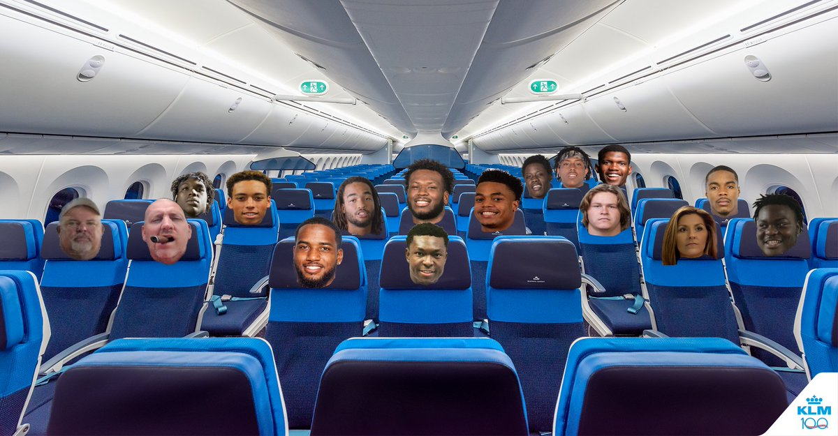 It's your first road game and you get to ride on the team plane, where are you sitting?