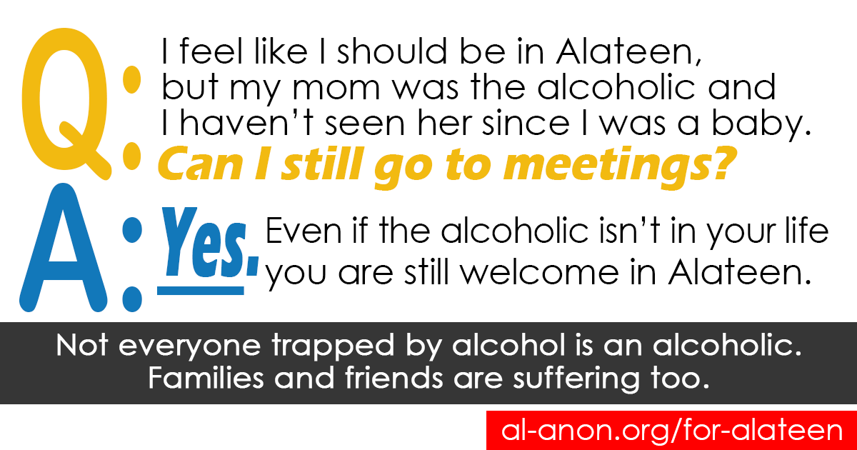 #Alateen meeting  @ http://goo.gl/8F4WSB    Chat http://goo.gl/4X17GY   #AlAnon #FamilyDisease #FamilyRecovery #teensupport #COA #alcoholism #addiction #myrecovery #mystory #recoveryjourney #iamnotalone #youarenotalone #goodquestion #raiseawarenesspic.twitter.com/hZDudvRr5n