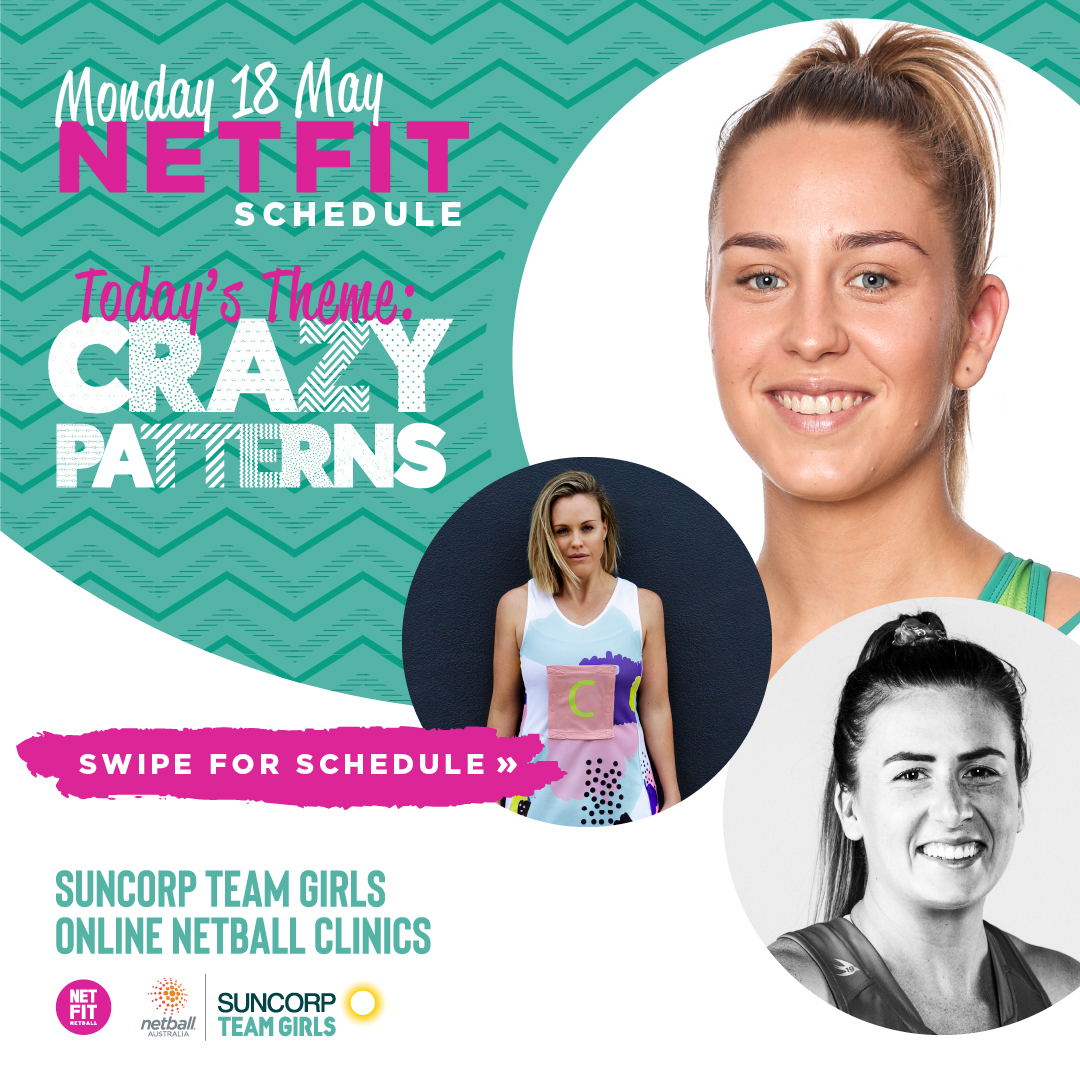 It's @NETFITNetball time!  Swipe to check out the full schedule and hit this link to sign up for free -https://t.co/qIrKMRLFrP https://t.co/cd0be3zaIa