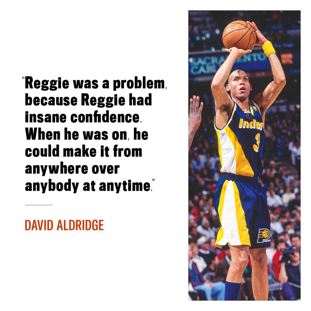 Reggie Miller was a walking bucket. #TheLastDance https://t.co/rMYSbJO0gs