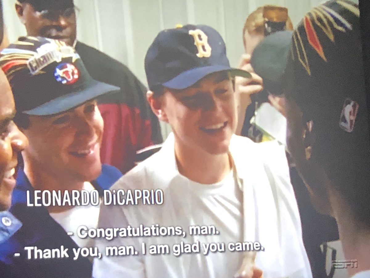 pete abraham on twitter leonardo dicaprio was a late 90s red sox