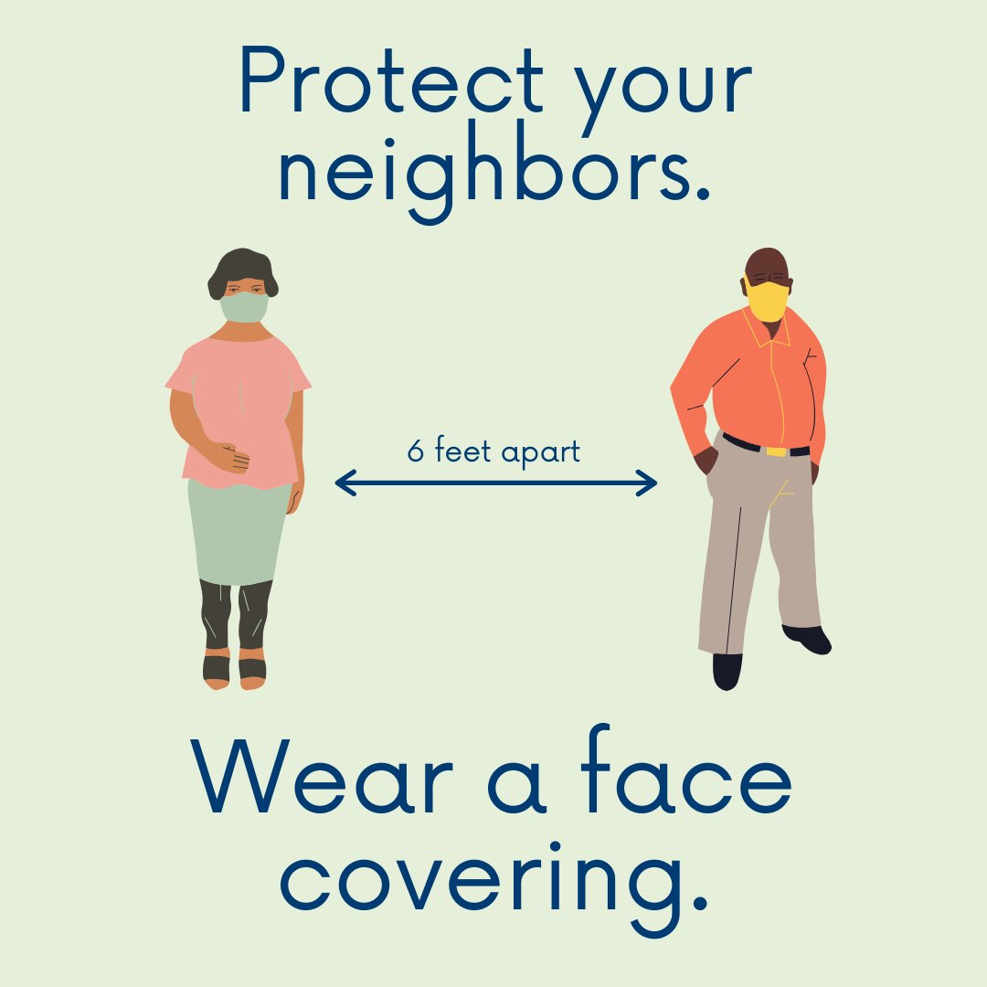Wear a face covering to protect your neighbors.  Wear a face covering to safeguard older Oregonians.  Wear a face covering to defend immunocompromised kids.   Wear a face covering to respect doctors, nurses, police, grocery workers, and others who take a risk to serve you. https://t.co/PKyIOKPxJc
