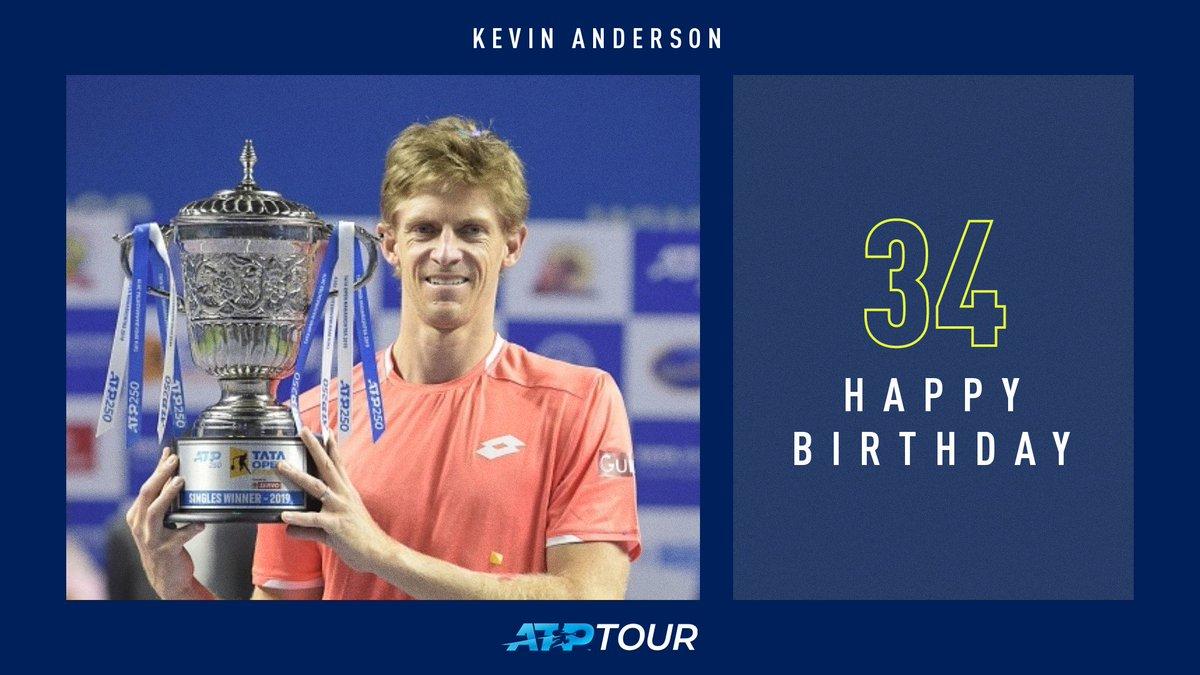 6 tour-level titles  Wimbledon finalist  US Open finalist  #NittoATPFinals semi-finalist  Happy birthday, @KAndersonATP! <br>http://pic.twitter.com/4xHG0qM5zL