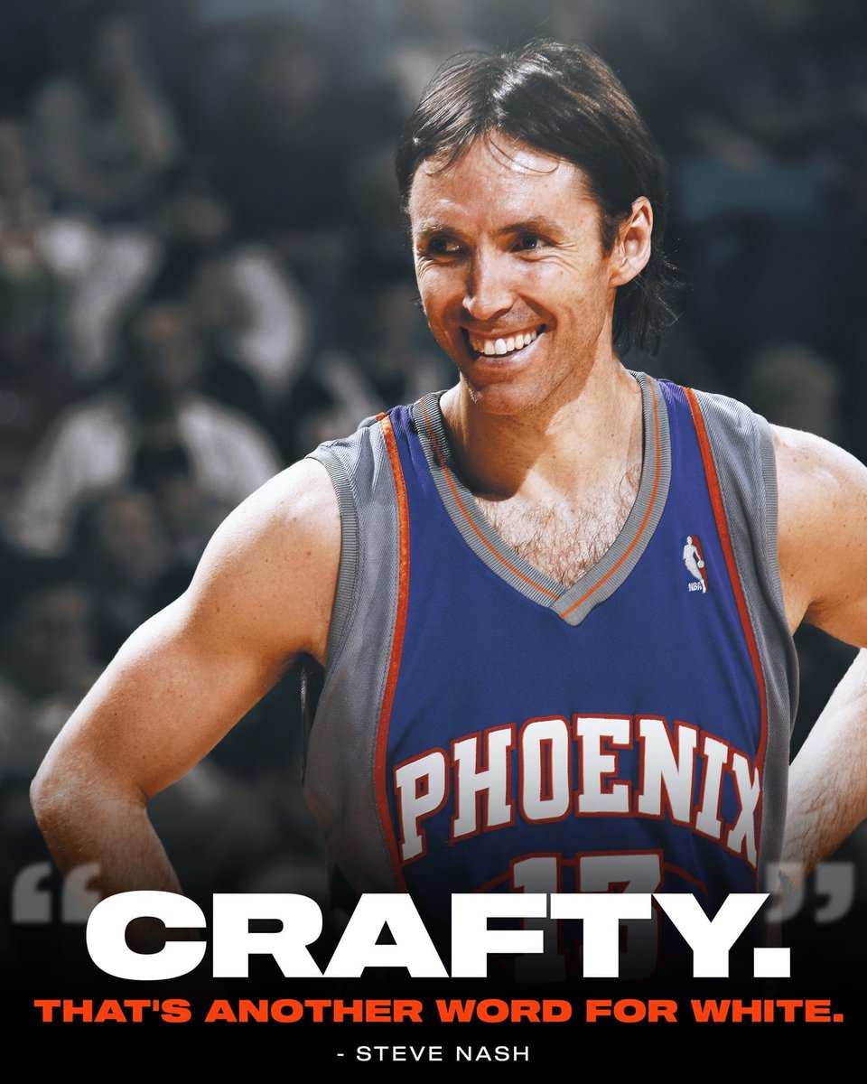 Steve Nash been called 'crafty' his whole life 😂  (via All The Smoke) https://t.co/1UVxlK0HZj