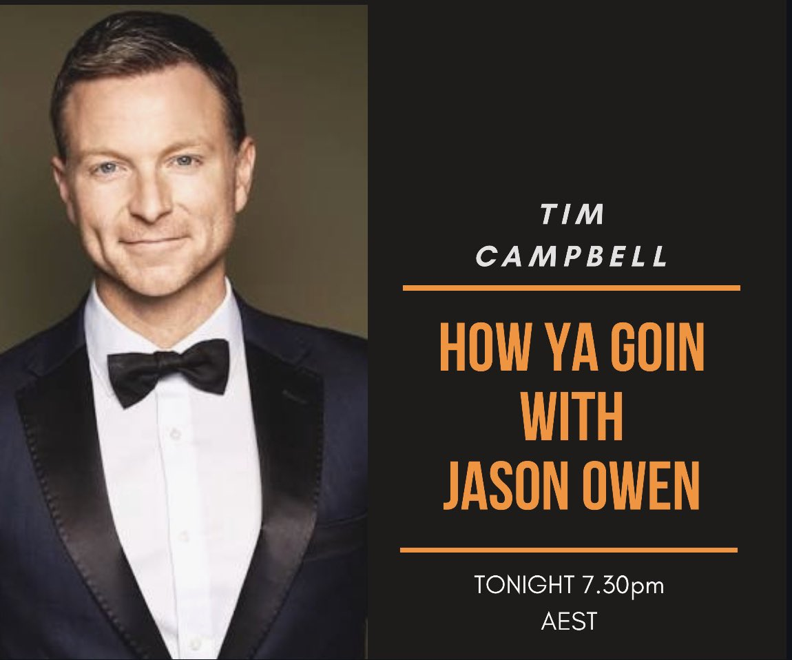 Was great chatting to @TimCampbellTwit tonight over on fb 👍 come check it out. Thanks for coming on mate https://t.co/cvNbt48yJT