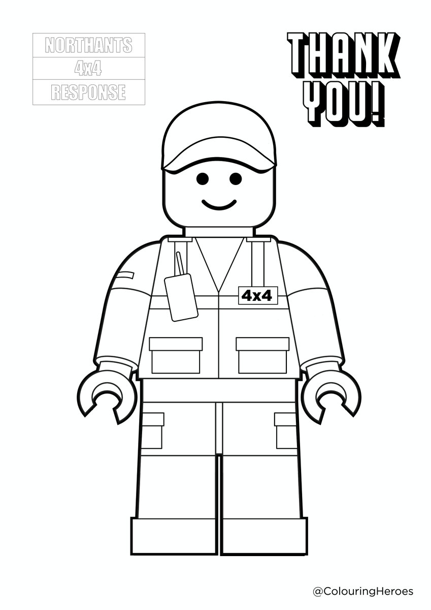 The nice people @ColouringHeroes have produced a colour-in 4x4 Response Responder to help keep children, young or old, occupied: wed love to see your finished masterpieces, and share them here on Twitter.