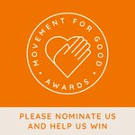 Image for the Tweet beginning: Please nominate us today for
