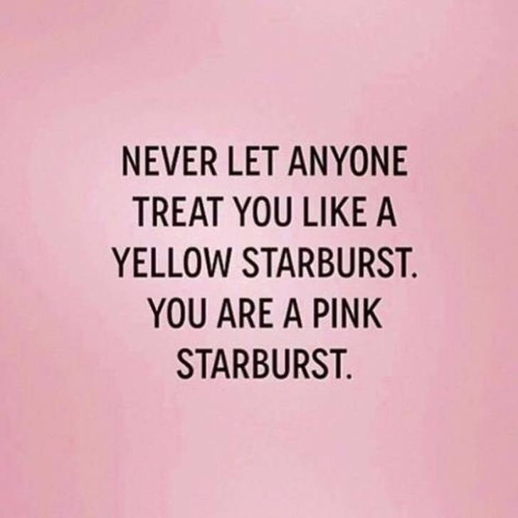 You are a Pink Starburst 💖 You are Awesome and don't you ever forget it!! 😁🙏🌻💖💕🌸 #KnowYourWorth #BeKindToYourself #ShineYourLight #KeepShining ❤🌈💖💕🌸 https://t.co/ZdQYDWPzqS