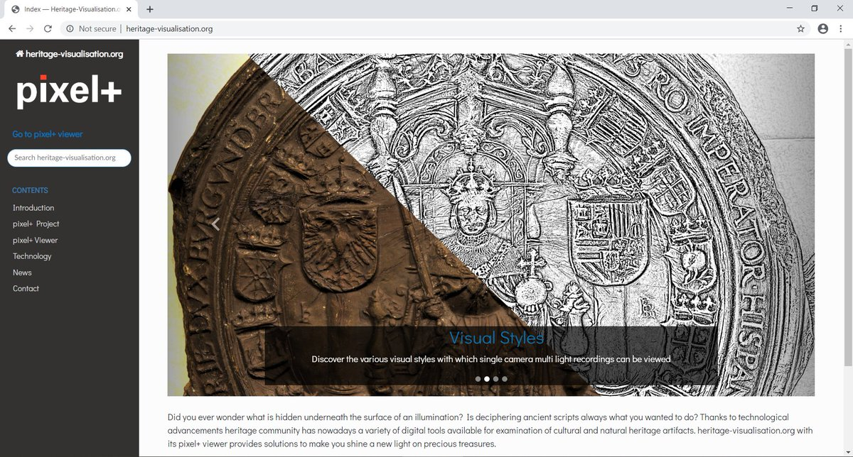 Launch of our pixel+ viewer on https://t.co/6ZhM4QOe1U, joining the visualization of interactive 2D+ #RTI #PTM #PLD files, partnership with @ArtHistoryBRU, @kbrbe, #Illuminare, @LabHeritage, @imagingkuleuven and #ESAT, funded by @belspo (Brain-be) https://t.co/wcB7Sokarf