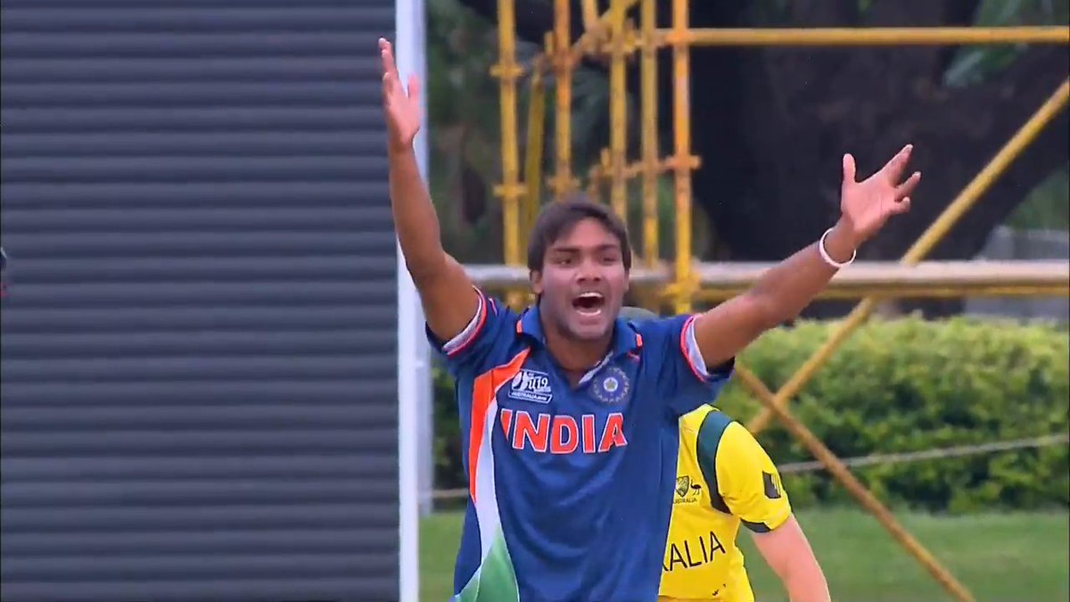 On Sandeep Sharmas birthday, we revisit his 4/54 from the final of the U19 Cricket World Cup in 2012 that helped India win the 🏆