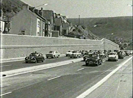 Fishguard police were out in force again at the weekend, stopping tourists from coming to Fishguard
