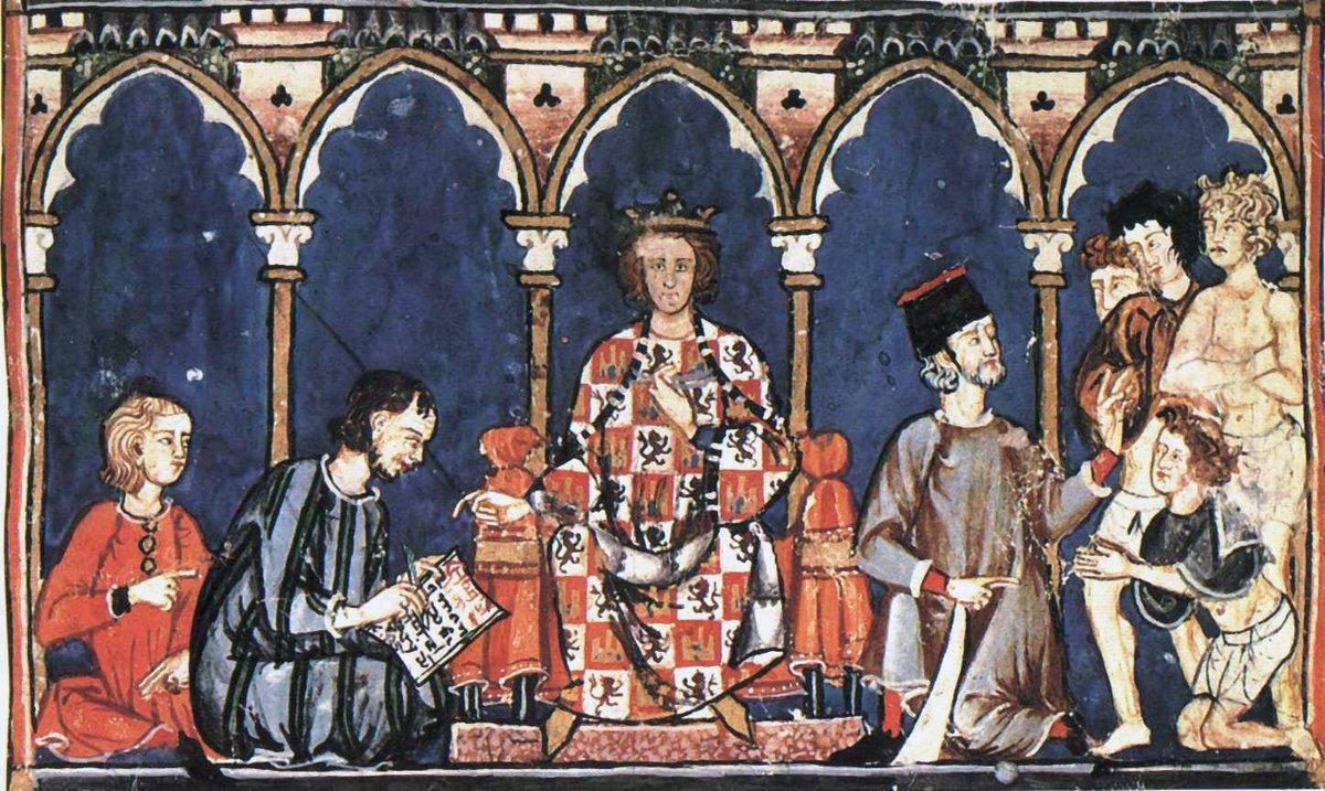 """Alfonso X, """"el Sabio"""", un rey filósofo, astrónomo, escritor, jurista, historiador, músico -con sus célebres cantigas- y conocedor de otros tantos artes y ciencias más, es el protagonista de este podcast de #ElArtedelaGuerra http://rtve.es/a/5575834/pic.twitter.com/HCfCbjdmn3"""
