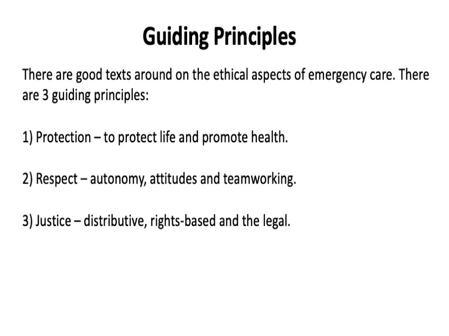 1/5. I was asked for advice on how Covid-19 changed the ethics of our approach to ED decision making - my answer was that it did not. The guiding principles remain exactly the same. Practical examples in the thread. https://t.co/MvloV7Pudt