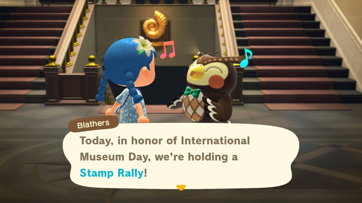 Did you know that today is International Museum Day? In celebration, our friend Blathers has put together a special event that runs from now through the end of the month. I do hope you'll be able to participate – there are prizes involved, after all. Oho!