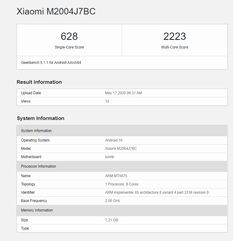 Redmi 10X 5G with MediaTek Dimensity 820 Confirmed to Launch on 26th May in China