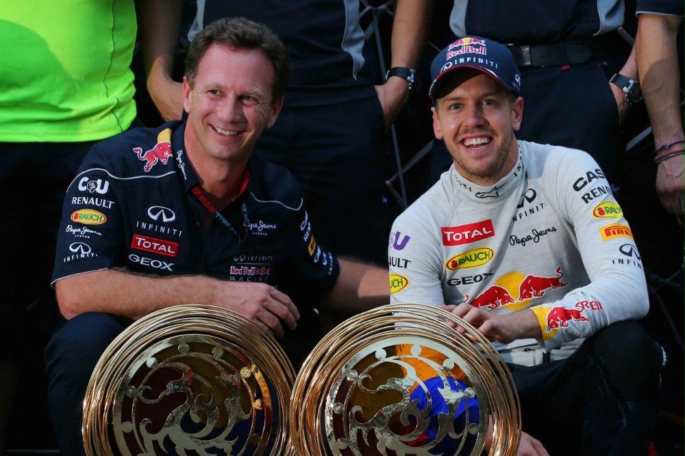 In navolging van Helmut Marko heeft Christian Horner gezegd dat het onwaarschijnlijk is dat Sebastian Vettel terugkeert bij Red Bull. Horner is tevreden met het team dat ze nu hebben. #f1nieuws https://t.co/NtW0iBLsA5 https://t.co/zh080ekOXy