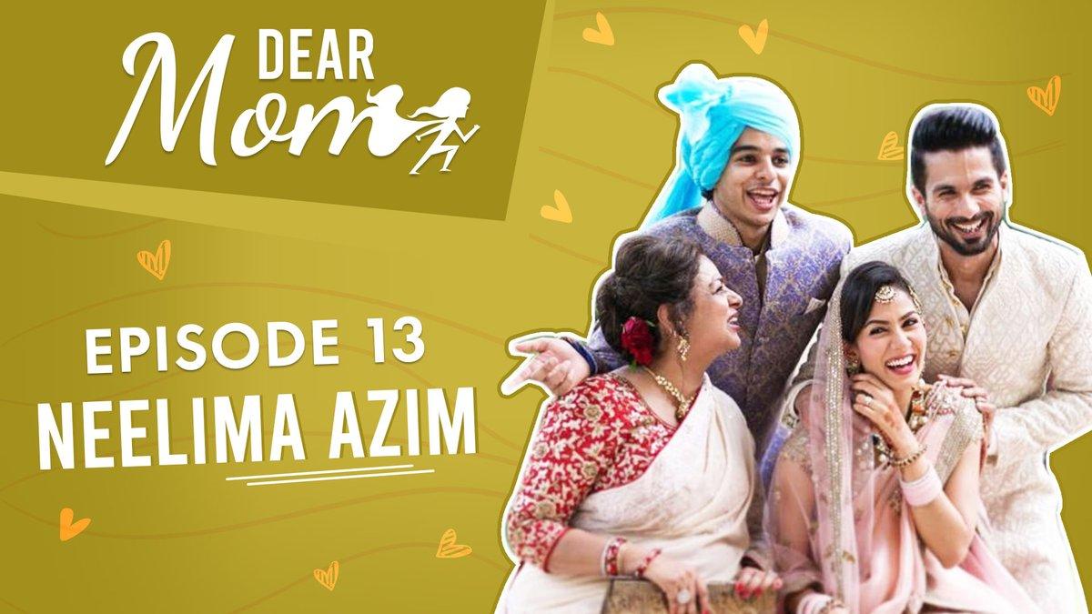 Neelima Azim on Shahid Kapoor, Ishaan Khatter, Mira Rajput & separation from Pankaj Kapur. Watch Now! #NeelimaAzim @shahidkapoor #DearMom