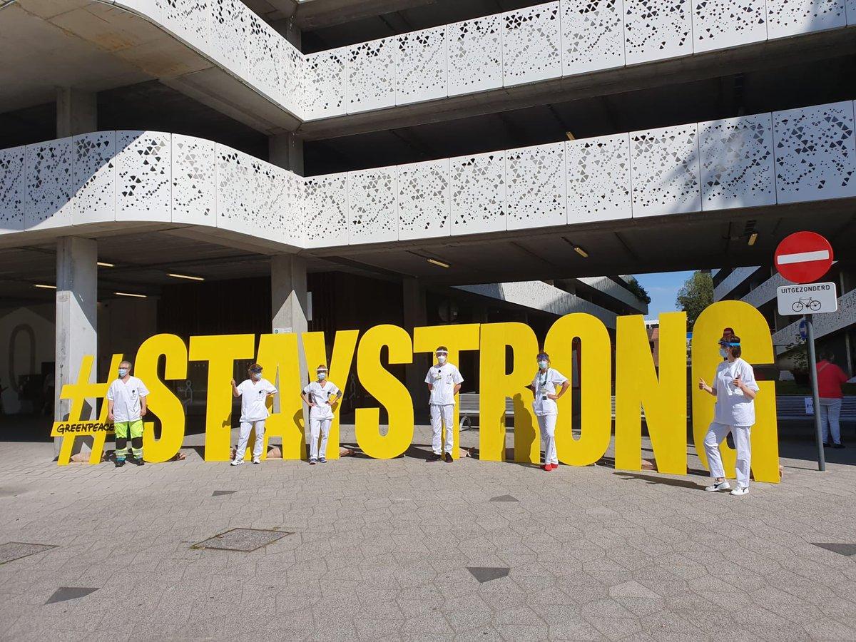 Thank you, merci, bedankt! #Staystrong 💚