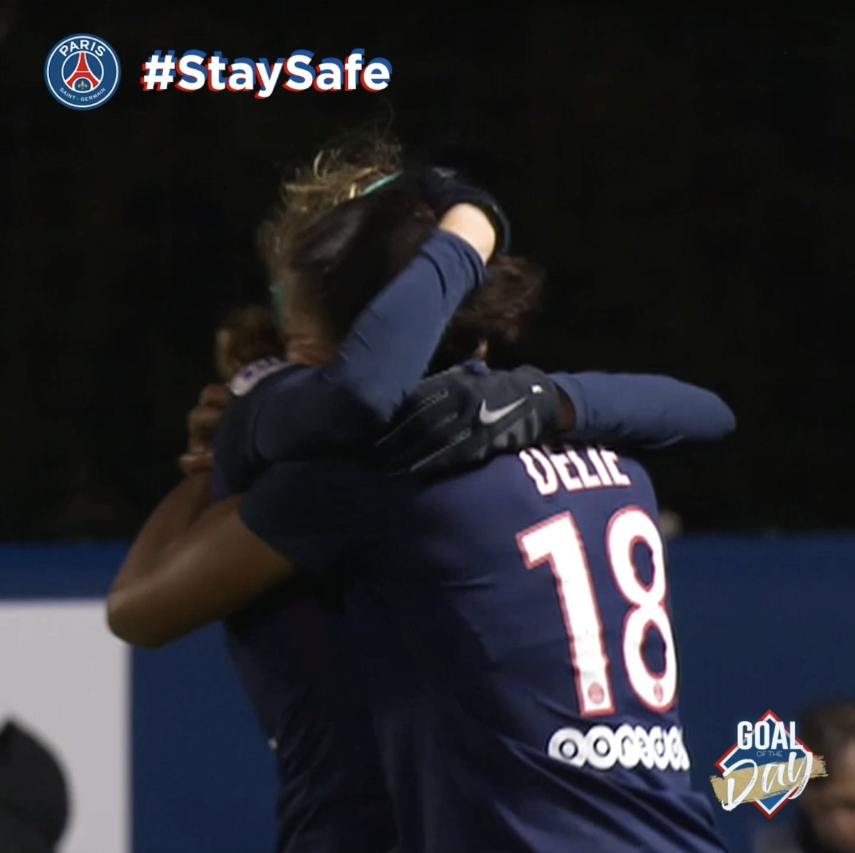 La frappe limpide de @MarieLaureDelie ! ☄️ ⚽️ #GoalOfTheDay