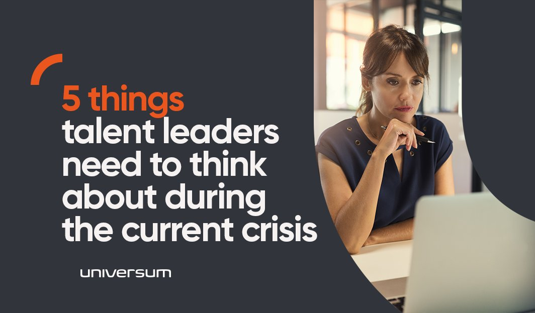 5 things talent leaders need to think about during the current crisis: https://t.co/hCbgY6M8Fk https://t.co/LyNOMLMm6m
