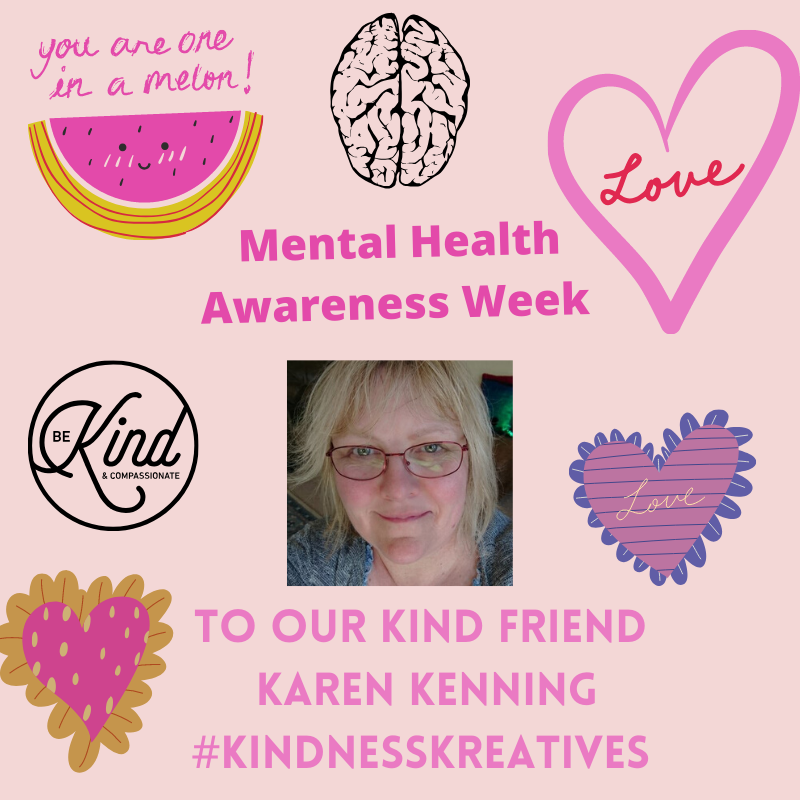 🌞Good Morning Kind Friends🌞 This week as part of #MentalHealthAwarenessWeek #KindnessWeek we will be a making poster for each member of #KindnessKreatives. Speaking from💜 We believe that KINDNESS should be an attitude & mindset all year round. This lady is one of a kind 💋
