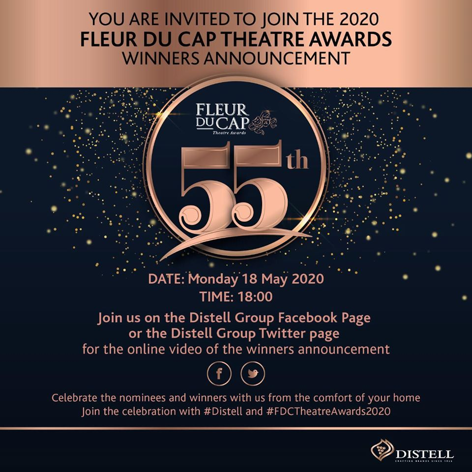 Looking forward to this evening's @FleurduCap Theatre Awards Winners Announcement!! * * Congratulations to #Elysians Craig Urbani and Nicholas Pauling on your nominations!! * * #elysianmanagement #awardsceremony #ElysianLeads #proud #announcement #agencyofafrica #lockdown #livepic.twitter.com/JuYva37WkM
