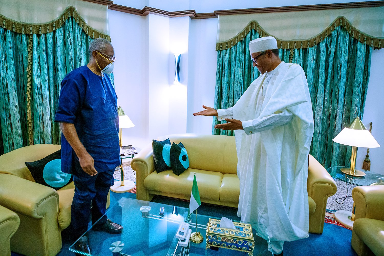 , President Buhari receives T.Y Danjuma in the state house (photos), All9ja, All9ja